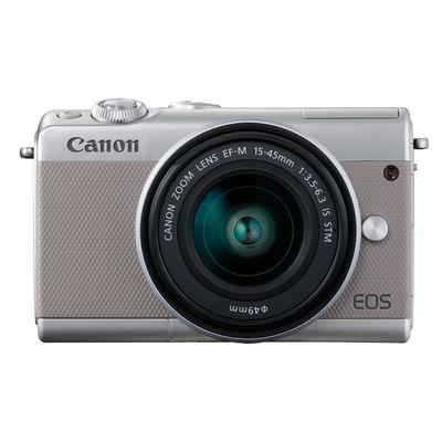 Canon EOS M100,EF-M 3,5-6,3/15-45 IS STM grau