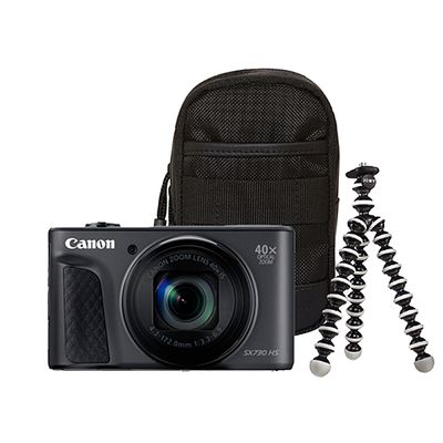 Canon PowerShot SX730 HS Travel Kit schwarz