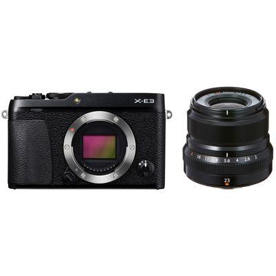 Fujifilm X-E3 + XF 2,0/23 mm WR Fujifilm X schwarz