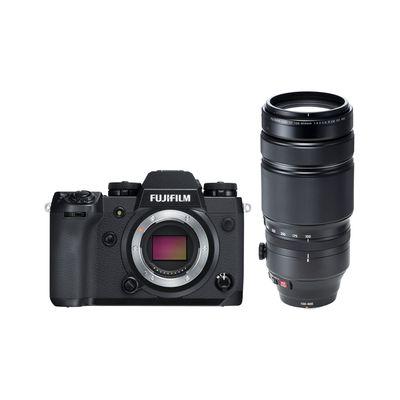 Fujifilm X-H1 + XF 100-400 mm R LM OIS WR Fujifilm X