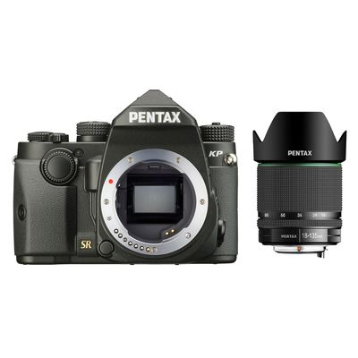 Pentax KP, DA 18-135 WR schwarz