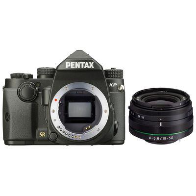 Pentax KP mit DAL 18-50 WR schwarz