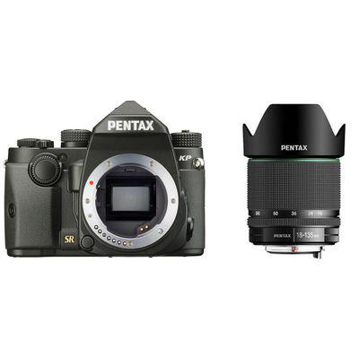Pentax KP + Pentax DA 3,5-5,6/18-135 WR schwarz