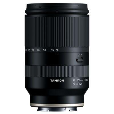 Für weitere Info hier klicken. Artikel: Tamron 28-200mm f/2.8-5,6 Di III RXD Sony FE Mount