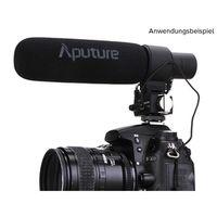 Zum Vergrößern hier klicken. Artikel: Aputure Shotgun Microphone V-Mic D2