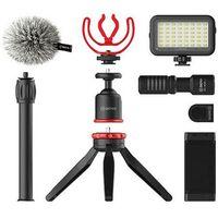 Für weitere Info hier klicken. Artikel: Boya Vlogging Kit mit BY-MM1 + Smarthone Halterung + LED