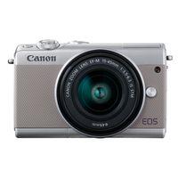 Zum Vergrößern hier klicken. Artikel: Canon EOS M100,EF-M 3,5-6,3/15-45 IS STM grau