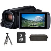 Zum Vergrößern hier klicken. Artikel: Canon LEGRIA HF-R88 Premium Kit / Tasche / miniStativ / 8 GB SD Karte