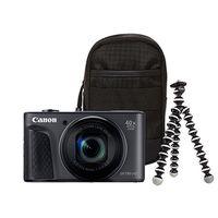 Zum Vergrößern hier klicken. Artikel: Canon PowerShot SX730 HS Travel Kit schwarz