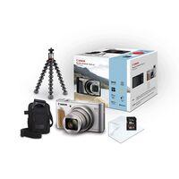 Für weitere Info hier klicken. Artikel: Canon PowerShot SX740 HS Special Edition Travel Kit silber