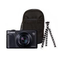 Zum Vergrößern hier klicken. Artikel: Canon PowerShot SX740 HS Travel Kit schwarz