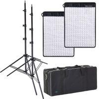 Für weitere Info hier klicken. Artikel: Dörr LED Flex Panel 2er Kit FX-3040 DL mit 2xLS+Tasche