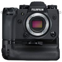 Zum Vergrößern hier klicken. Artikel: Fujifilm X-H1 + Batteriegriff VPB-XH1 + 2 Akkus