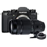 Für weitere Info hier klicken. Artikel: Fujifilm X-T3 + XF 100-400mm R LM OIS WR + TC XF 1.4X schwarz Fujifilm X