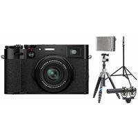 Für weitere Info hier klicken. Artikel: Fujifilm X100V Vlogger Kit für Fortgeschrittene schwarz