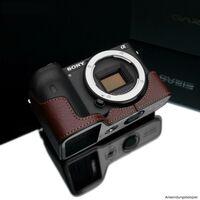 Für weitere Info hier klicken. Artikel: Gariz Halbtasche passend für Sony Alpha 6600 braun