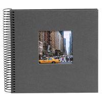 Für weitere Info hier klicken. Artikel: goldbuch Spiralalbum Bella Vista 20x20 40 schwarze Blätter grau