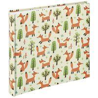 Für weitere Info hier klicken. Artikel: Hama Jumbo-Album Forest, 30x30 cm, 100 weiße Seiten Fox
