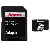 Für weitere Info hier klicken. Artikel: Hama Micro SDHC-Card C10 + Adapter 32 GB