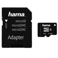 Für weitere Info hier klicken. Artikel: Hama microSDHC Class 10 22MB/s + Adapter / Mobile 8GB