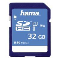 Für weitere Info hier klicken. Artikel: Hama SDHC, Class 10, UHS-I, U1, V10, 80MB/s 32 GB