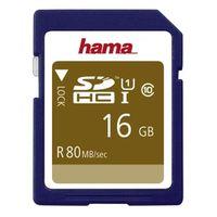 Für weitere Info hier klicken. Artikel: Hama SDHC, Class 10, UHS-I, U1, 80MB/S 16 GB