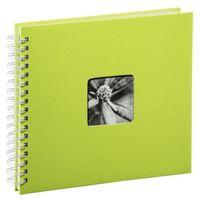 Für weitere Info hier klicken. Artikel: Hama Spiral-Album Fine Art, 28 x 24cm, 50 weiße Seiten Kiwi