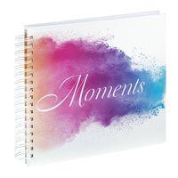 Für weitere Info hier klicken. Artikel: Hama Spiral-Album Watercolor Moments, 28x24 cm, 50 weiße Seiten
