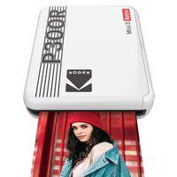 Für weitere Info hier klicken. Artikel: Kodak Mobiler Drucker Mini 3 Plus Retro 3,3x3,3 weiß