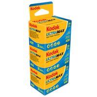 Für weitere Info hier klicken. Artikel: Kodak Ultra Max 400 135/36 3er Pack Kleinbildfilm
