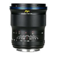 Für weitere Info hier klicken. Artikel: LAOWA Argus 33mm f/0,95 CF APO Sony E Mount