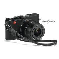 Für weitere Info hier klicken. Artikel: Leica Handschlaufe für Leica M/X schwarz