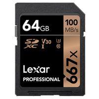 Für weitere Info hier klicken. Artikel: Lexar Professional, SDXC 667x, Class 10, UHS-I, U3, V30, 100MB/s 64 GB