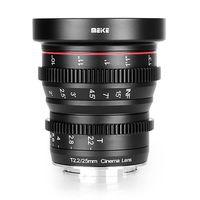 Für weitere Info hier klicken. Artikel: Meike 25mm T2.2 Cine Lens Micro Four Thirds