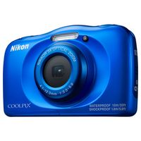 Zum Vergrößern hier klicken. Artikel: Nikon Coolpix W100 blau
