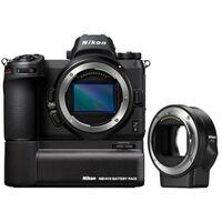 Für weitere Info hier klicken. Artikel: Nikon Z6 Gehäuse + FTZ Objektivadapter + Nikon Batteriegriff MB-N10