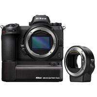 Für weitere Info hier klicken. Artikel: Nikon Z7 Gehäuse + FTZ Objektivadapter + Nikon Batteriegriff MB-N10