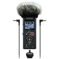 Für weitere Info hier klicken. Artikel: Olympus LS-P4 Videographer Kit inkl. Mikro Windschutz, Hot Shoe Adapter und 3.5mm Audio Kabel