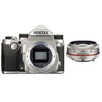 Zum Vergrößern hier klicken. Artikel: Pentax KP,DA 3,2/21 HD AL Limited silber