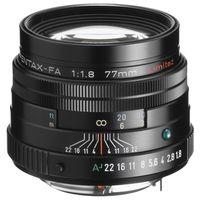 Zum Vergrößern hier klicken. Artikel: Pentax SMC FA 77mm f/1,8 Limited Pentax K Vollformat schwarz