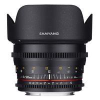 Für weitere Info hier klicken. Artikel: Samyang 50mm T/1,5 Video DSLR Micro Four Thirds