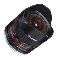 Für weitere Info hier klicken. Artikel: Samyang Fisheye 8mm f/2,8 II UMC Sony E-Mount schwarz