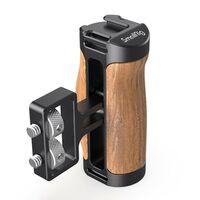 """Für weitere Info hier klicken. Artikel: SmallRig 2913 Wooden Mini Side Handle (1/4""""-20 Screws)"""