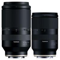 Für weitere Info hier klicken. Artikel: Tamron Objektivset 28-75mm f/2,8 Di III RXD + 70-180mm f/2.8 Di III VXD sony fe
