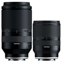 Für weitere Info hier klicken. Artikel: Tamron Objektivset AF 17-28mm f/2,8 Di III RXD + 70-180mm f/2.8 Di III VXD Sony FE-Mount