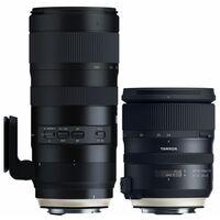 Für weitere Info hier klicken. Artikel: Tamron Profiset SP 24-70mm f/2,8 Di VC USD G2 + AF 70-200mm f/2,8 Di VC USD G2 SP Canon EF
