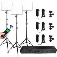 Für weitere Info hier klicken. Artikel: Viltrox VL 200T LED Light Triple Kit