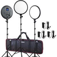 Für weitere Info hier klicken. Artikel: Viltrox VL 500T LED Light Triple Kit