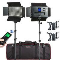 Für weitere Info hier klicken. Artikel: Viltrox VL S192T LED Light Duo Kit