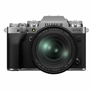 Für weitere Info hier klicken. Artikel: Fujifilm X-T4 + XF 16-80mm f/4,0 R OIS WR silber